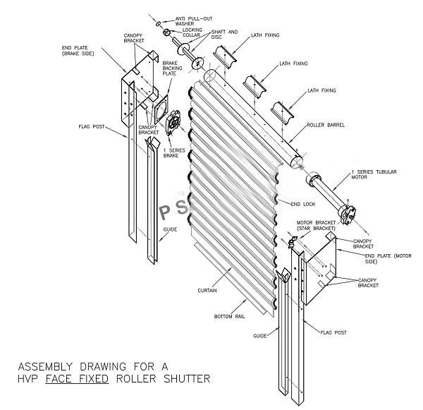600x581 Shutter Structural Design
