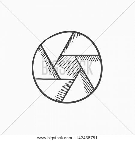 450x470 Camera Shutter Vector Sketch Icon Vector Amp Photo Bigstock