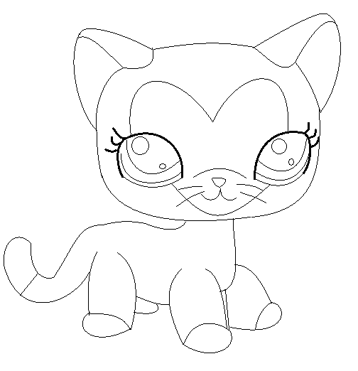 504x522 Lps Base Siamese Cat Base By Brownsugarlps