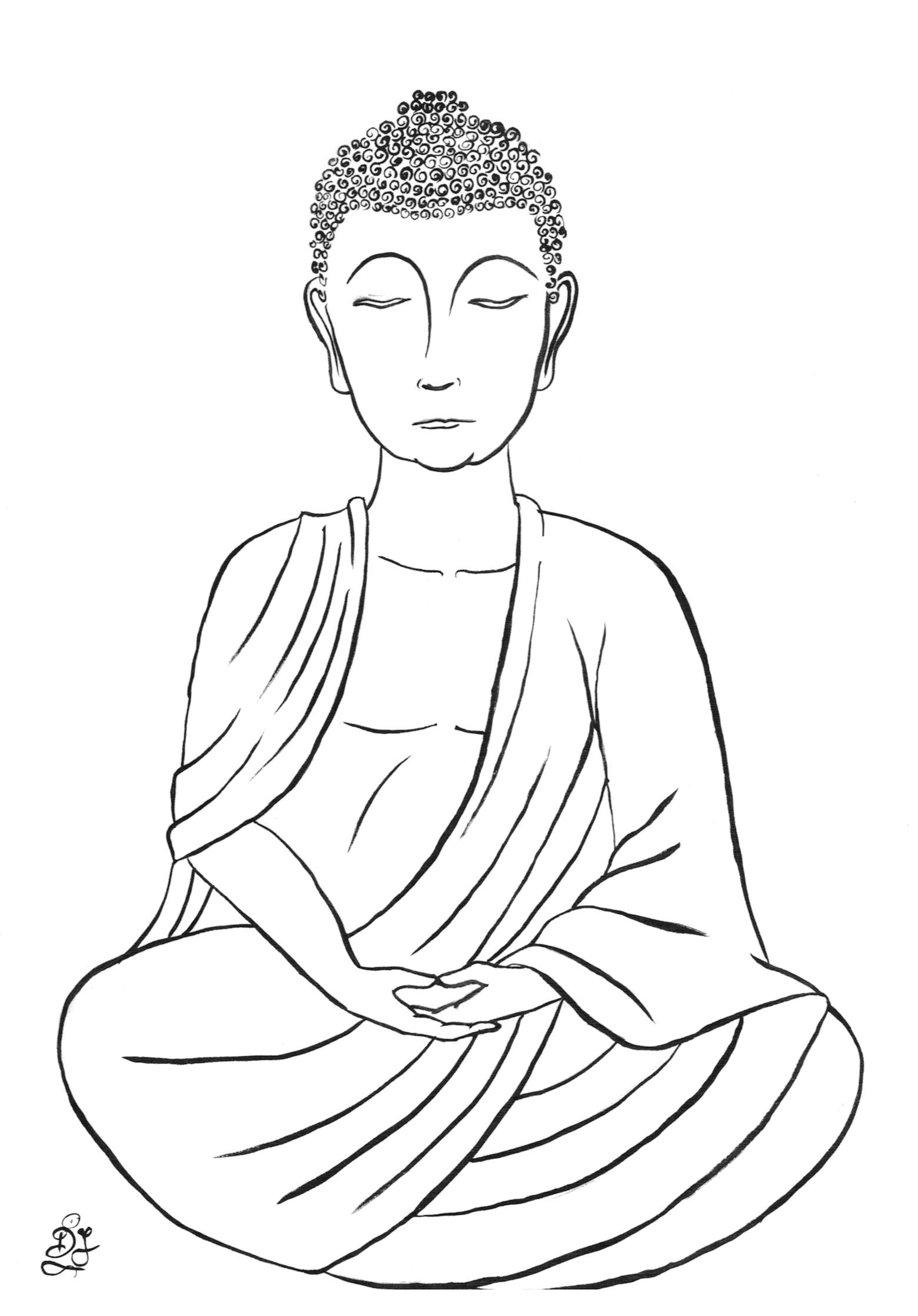Siddhartha Drawing