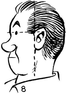 250x356 How To Draw Cartoon Comic Faces Amp Heads From Side View
