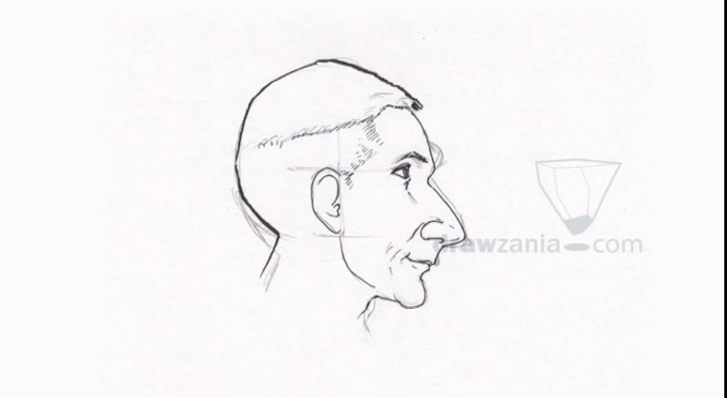1052x576 Caricature Drawing Intermediate 46 Side Pose 02