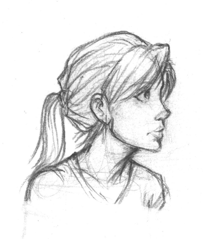 side profile drawing at getdrawings com free for personal use side