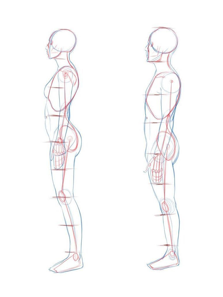 774x1032 Side View Woman And Male Dibujos Drawings, Drawing