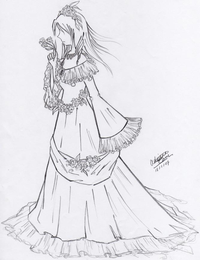 667x865 Dress, Side View By Feyon