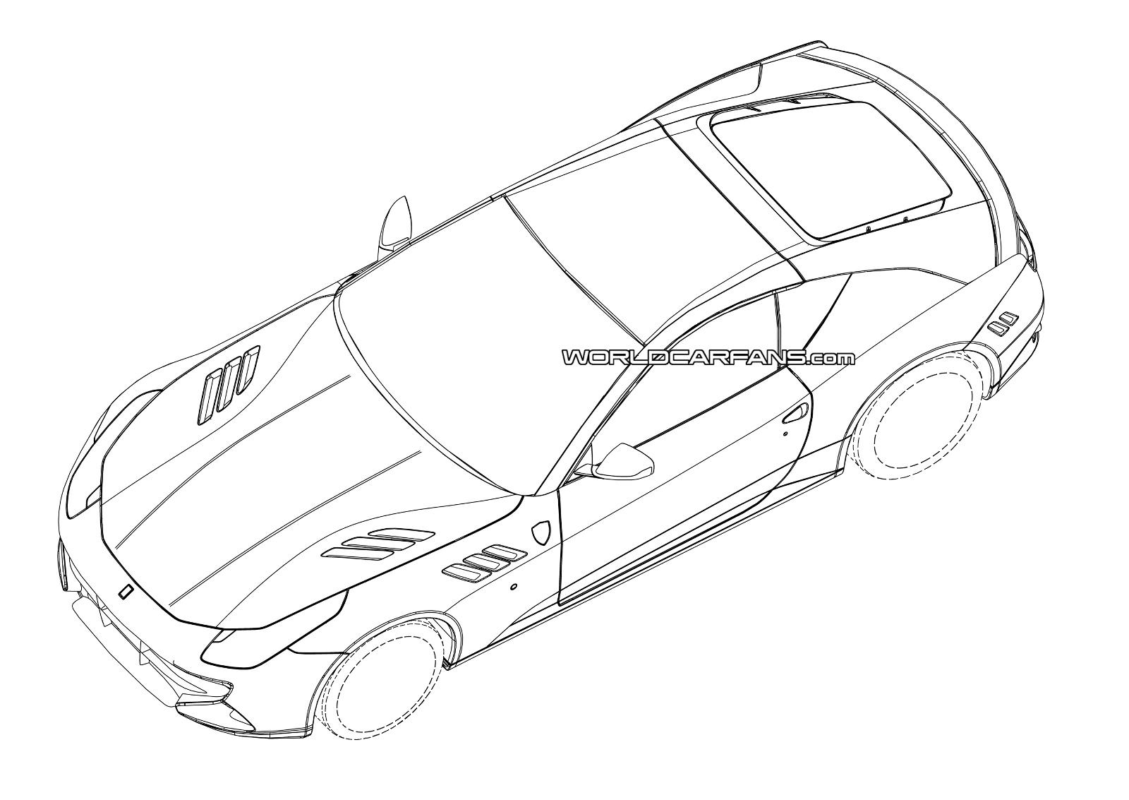 Side View Of Car Drawing