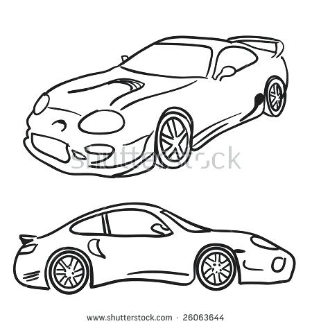 450x470 Sports Car Clipart Preview Sports Car Clipart Side View Png