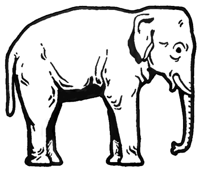 400x345 How To Draw Elephants With Step By Step Drawing Tutorial