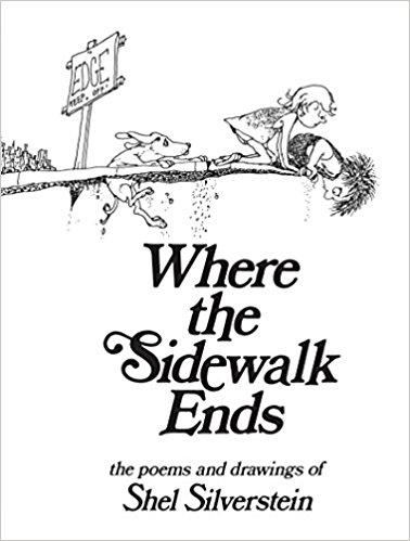 378x499 Where The Sidewalk Ends Poems And Drawings Shel Silverstein