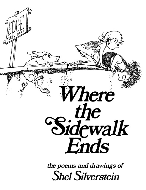 491x640 Where The Sidewalk Ends The Poems And Drawing Of Shel Silverstein
