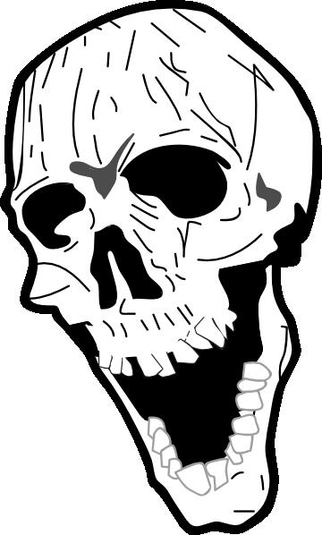 360x598 Skull Clip Art