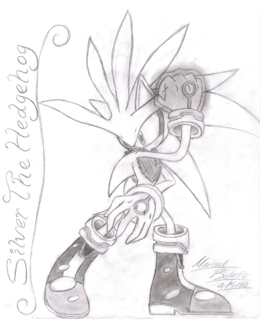 900x1114 Silver Drawing By Supasilver