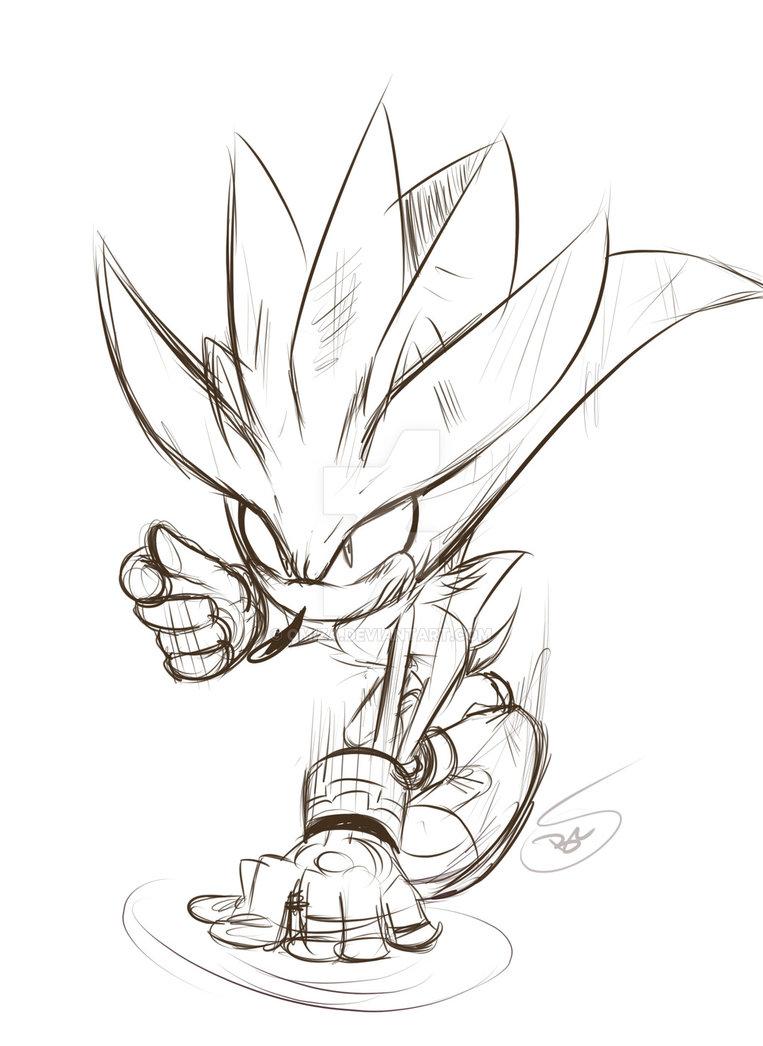 763x1046 Sketch Silver The Hedgehog By Omiza Zu