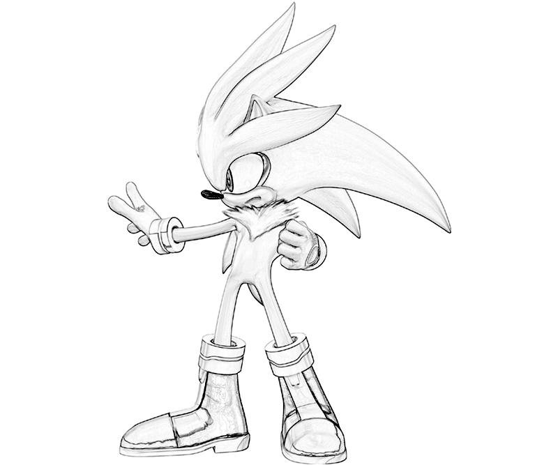 800x667 Sonic Generations Silver The Hedgehog Power Surfing