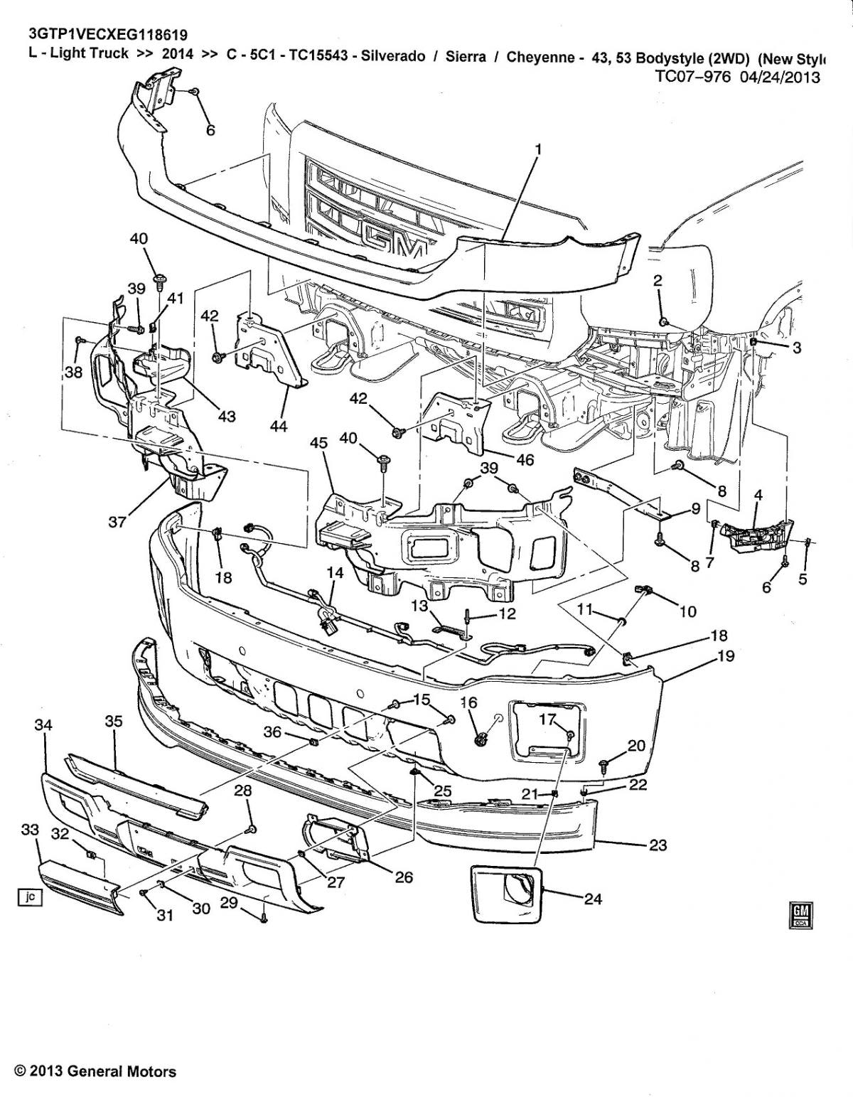 1200x1543 Chevy Silverado Parts Diagram Post 0 Contemporary Impression Thumb