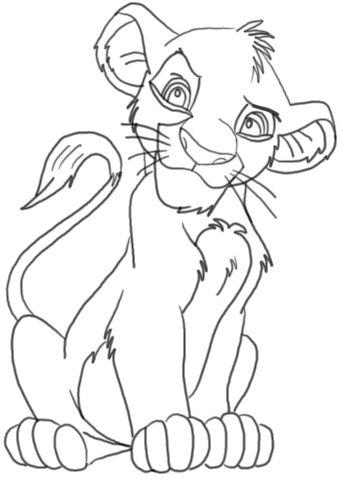 Simba Drawing