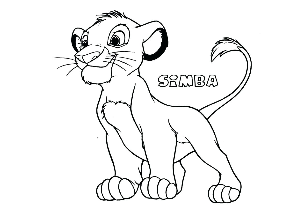 Berühmt Druckbare Simba Malvorlagen Galerie - Beispiel Business ...