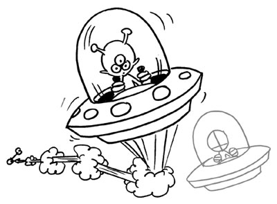 400x295 Outer Space Coloring Pages Outer Space Coloring Page Slinky