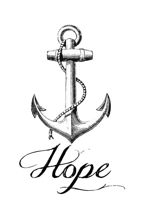 500x692 Simple Anchor Tattoo Outline Top Wheel And Anchor Tattoo Images
