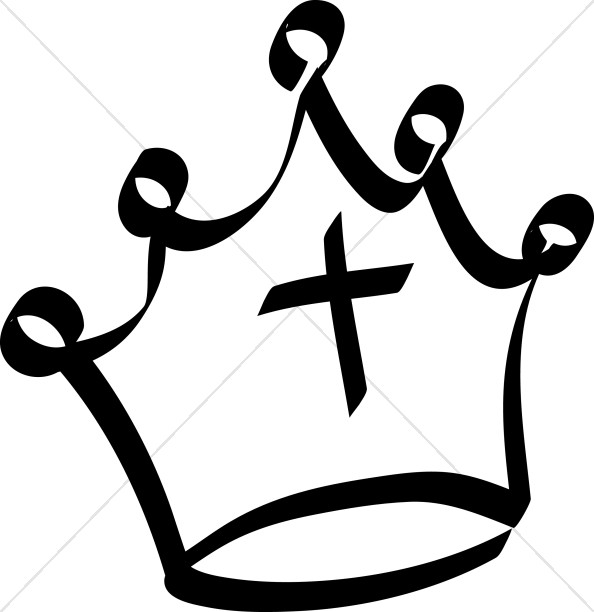 594x612 Simple Crown Crown Clipart