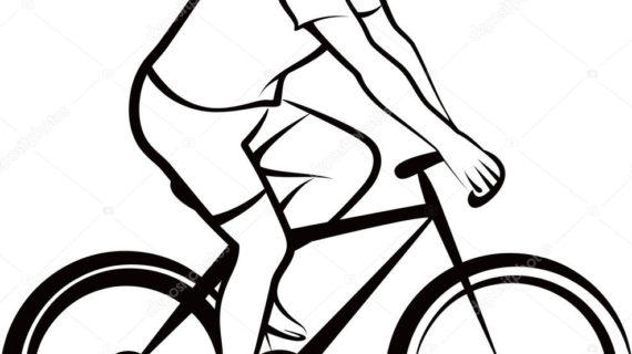 570x320 Simple Drawing Of A Bike How To Draw A Bicycle Step By Step