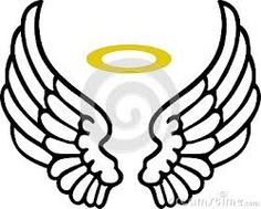 simple angel wing drawing at getdrawings com free for personal use rh getdrawings com angel wing clip art free angel wing clip art for cricut cutout