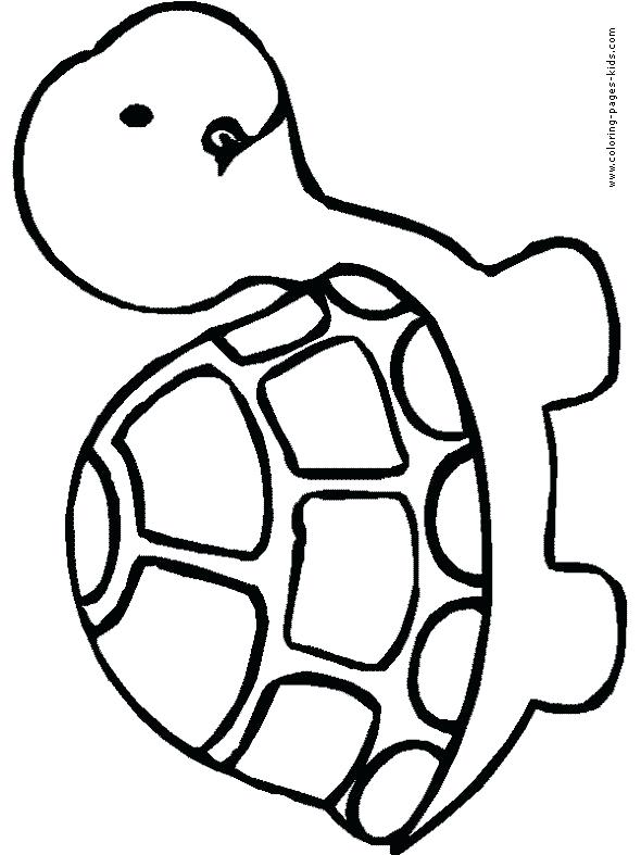 590x787 Coloring Pages Of Animals Simple Animal In Ocean