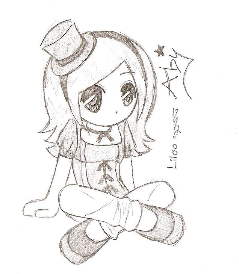798x915 Drawn Cute Anime