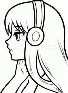236x326 How To Draw A Simple Anime Girl Step 6 Drawing