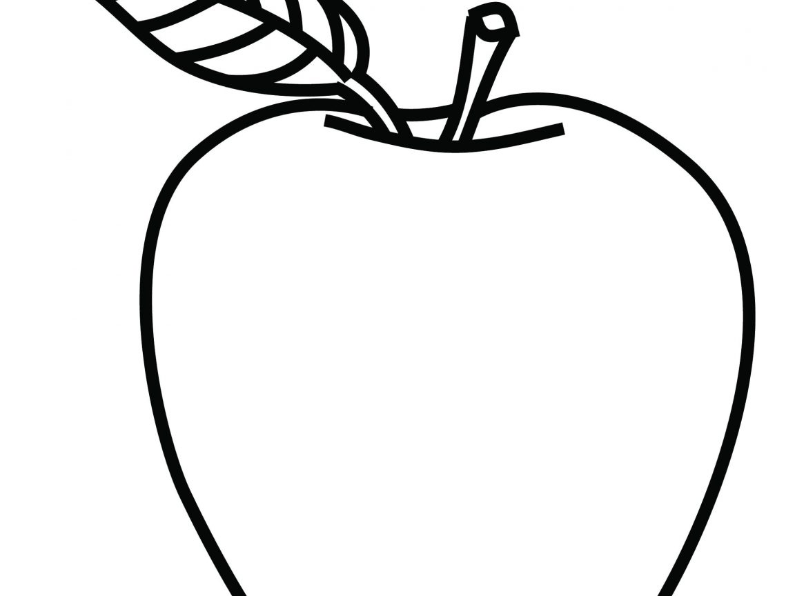 1152x864 Amazing Apple Cartoon Color Pages Wonderful Coloring Sheets Free