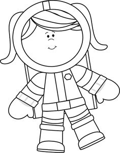 236x301 Printable Template The Astronaut Crafts And Worksheets
