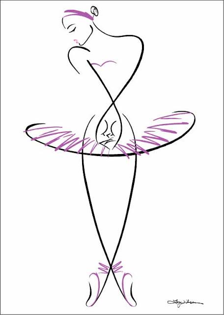456x640 Ty Wilson Ballerina Classical Music Art Ballerina