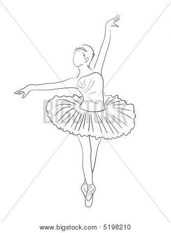 346x470 Ballerina Vector Amp Photo Bigstock
