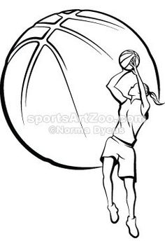 236x354 Basketball Sketch ) Parties Sketches, Drawings