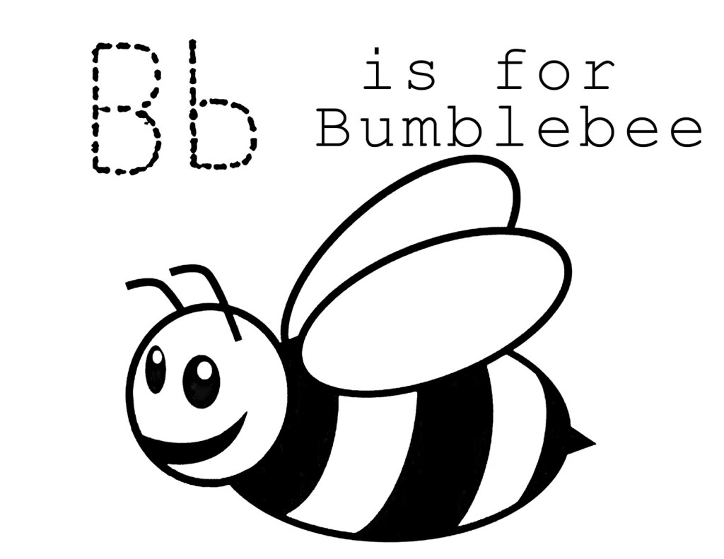 1024x791 Simple Bumble Bee Drawing Honey Bee Coloring Book. Honey. Free