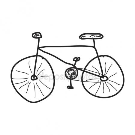 450x450 Bmx Bike Sketch Stock Vector Lhfgraphics