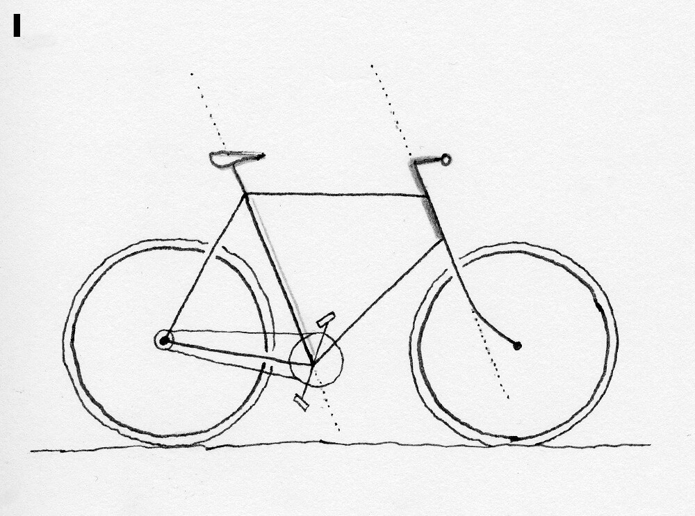 1000x742 How To Draw A Bicycle Daniel Stolle Medium