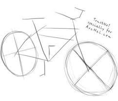 242x208 This Easy Tutorial Will Help You Learn To Draw A Cartoon Bicycle