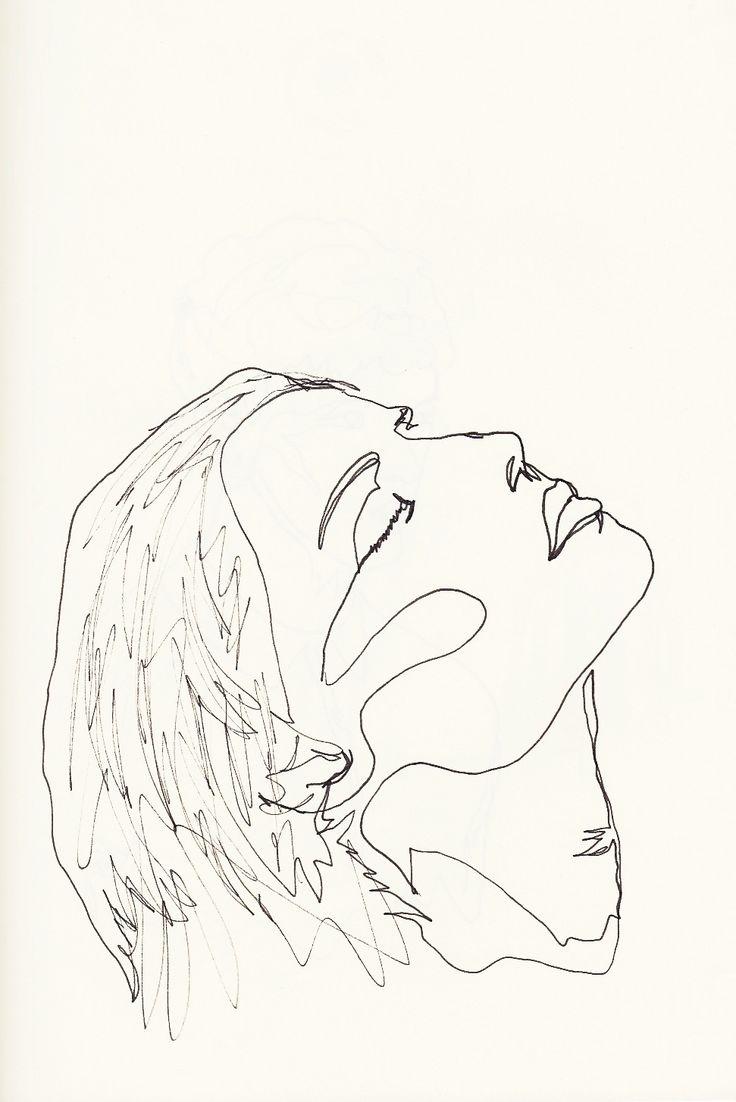 736x1102 Drawn Line Art