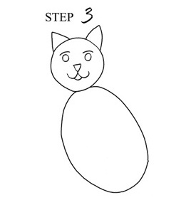 268x302 How To Draw A Cat (Step By Step With Pictures) Cool2bkids