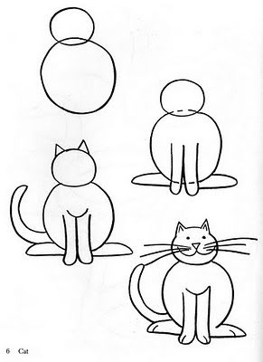 291x400 How To Draw Cats Drawing Techniques Cat, Drawings