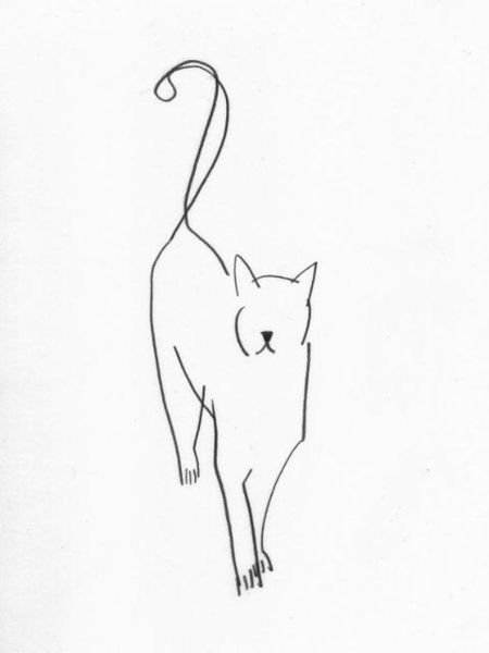 450x600 30 Best Gato Images On Drawing Ideas, Drawings Of Cats