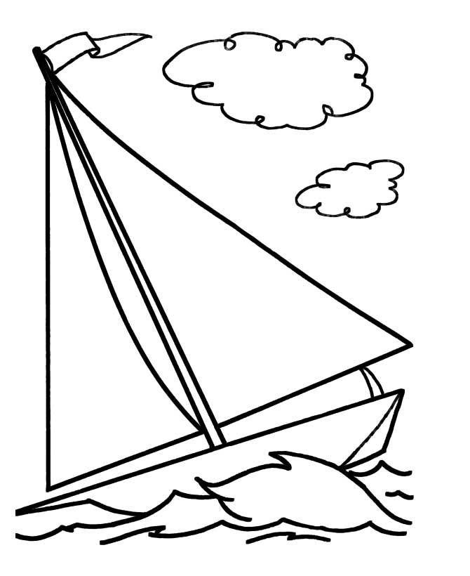 Simple Boat Drawing