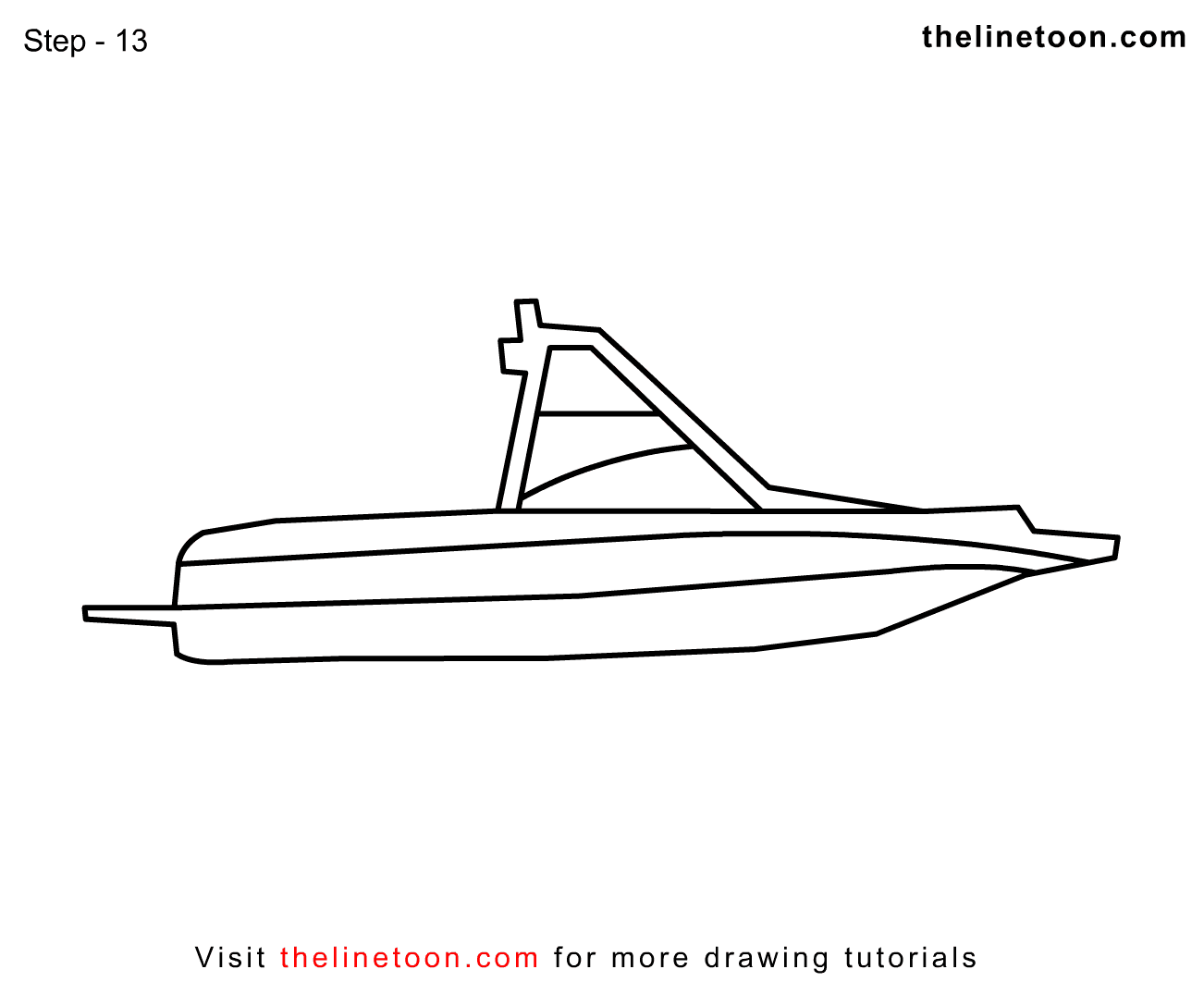 Simple Boat Drawing At Getdrawings Com Free For Personal Use
