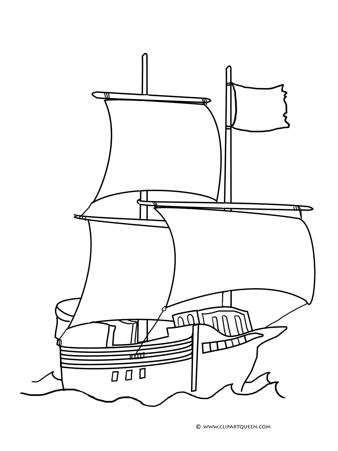 Simple Boat Drawing at GetDrawings.com | Free for personal use ...