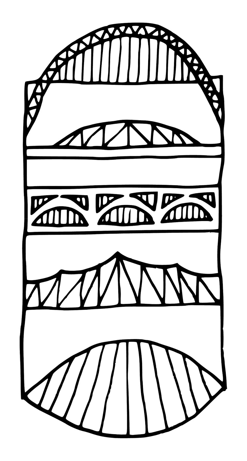 Simple Bridge Drawing At Free For Personal Use Camber Diagram Furthermore Warren Truss Further 857x1600 Laurie Woodruff Illustration Bridges