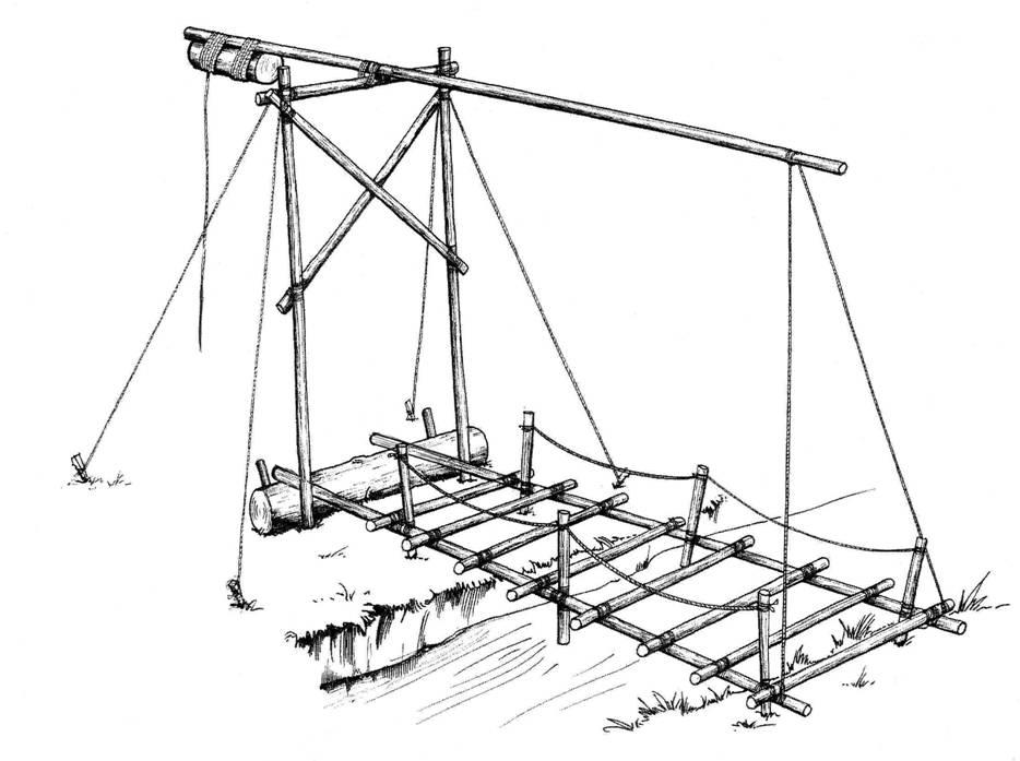 934x697 Pioneering Projects Ladder Bridge Bridges