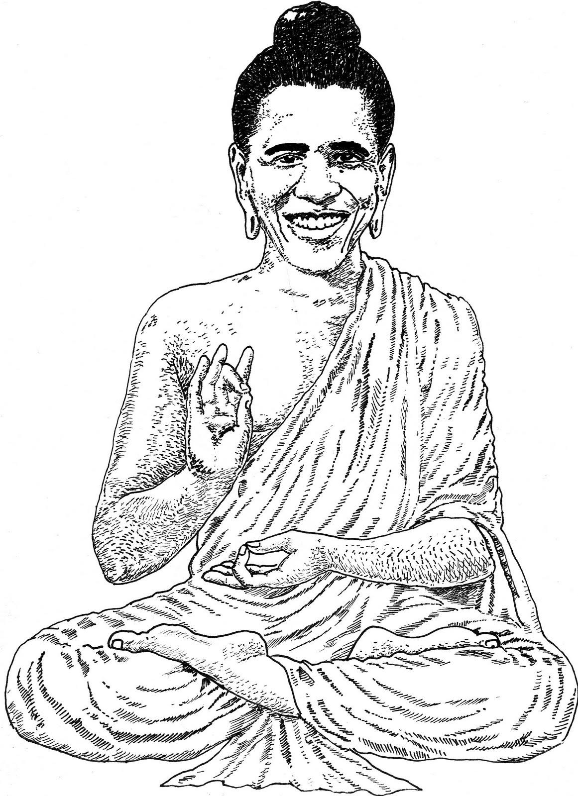 1161x1600 Jack Coltman (Artist) Buddha Obama