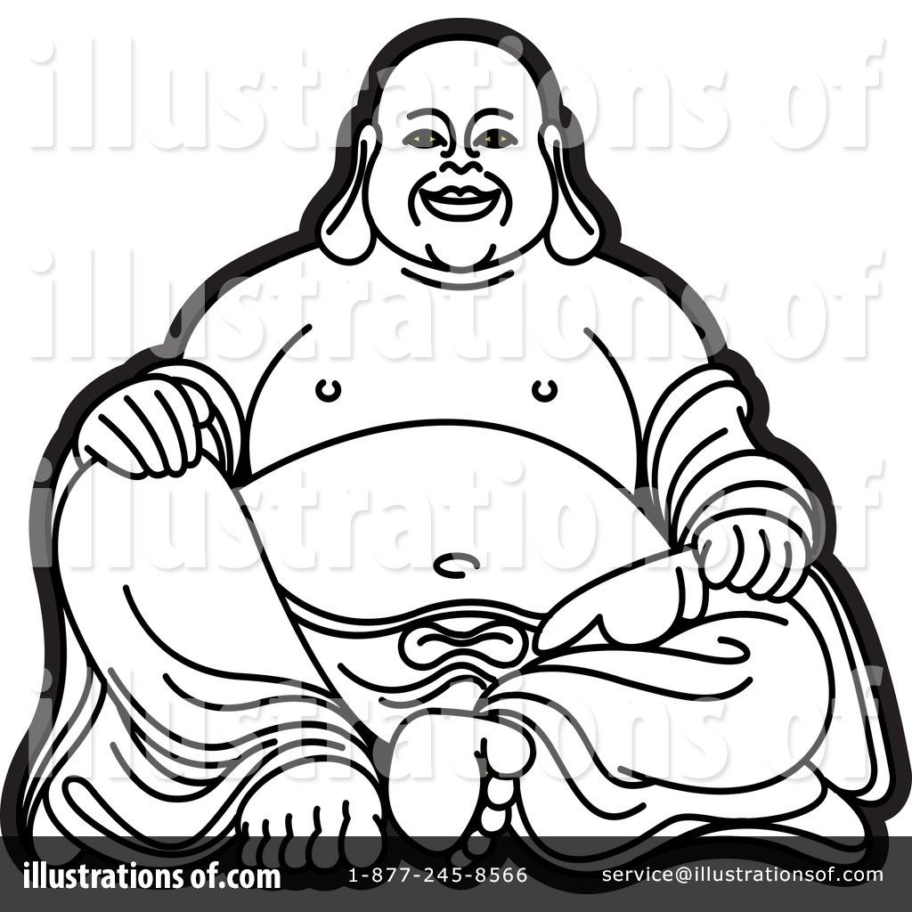 1024x1024 Simple Drawing Of Buddha Simple Buddha Drawing Happy 64362
