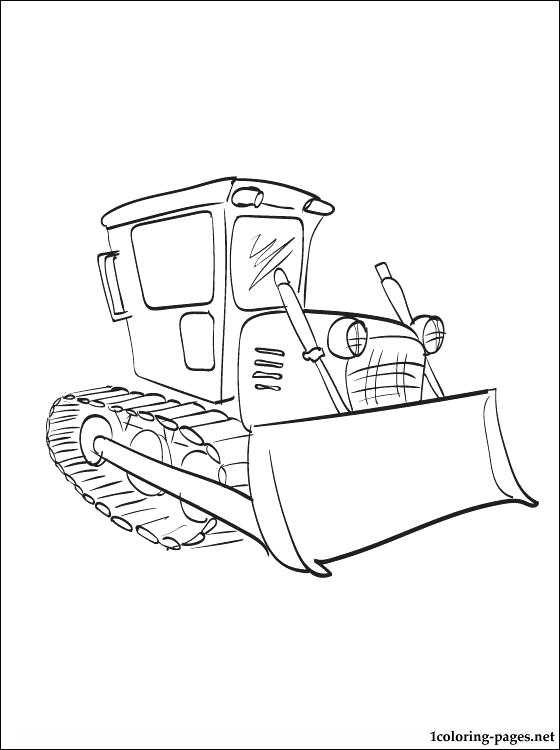 560x750 Great Bulldozer Coloring Pages Best Of Page